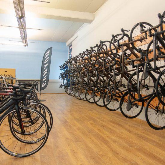 357 Media Bike Room